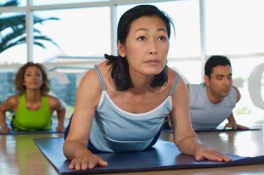 Yoga Class for senior living